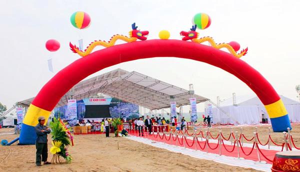 Cho thuê Cổng hơi, rối hơi, khí cầu, bóng bay ở tại TP Vinh Nghệ An