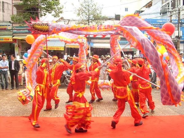 Cung cấp, cho thuê đội múa Lân Sư Rồng tại TP Vinh
