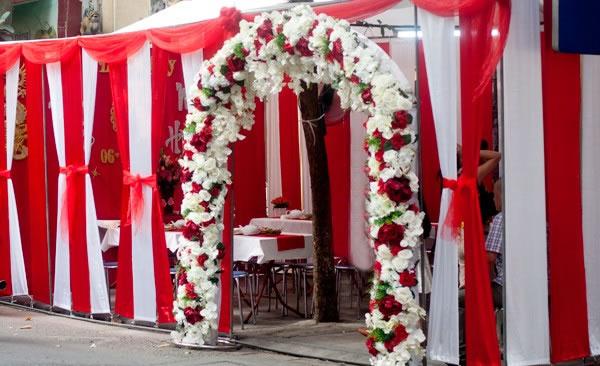 Cho thuê rạp, nhà bạt, khung nhà đám cưới ở tại TP Vinh Nghệ An